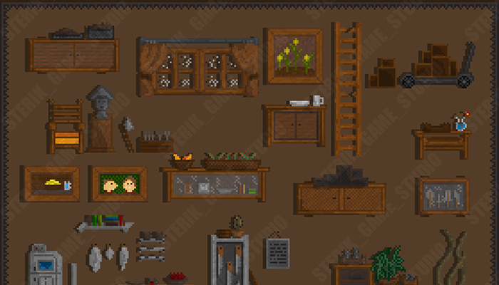 Objects for the craftsman's house