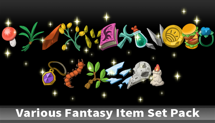 Various Fantasy Item Set Pack
