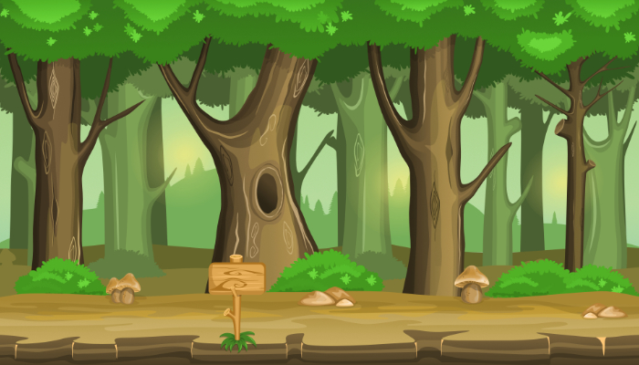 Forest Game Background 2
