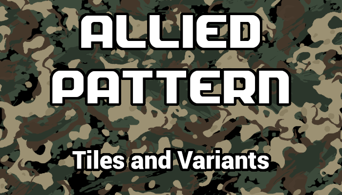 Allied Pattern Camouflage