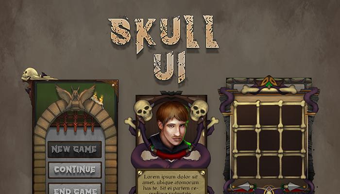 Skull UI