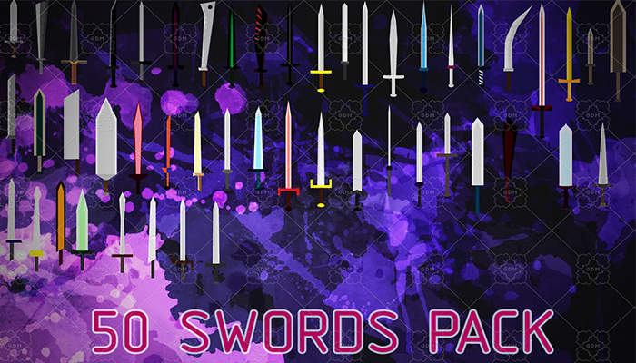 50 Swords Pack