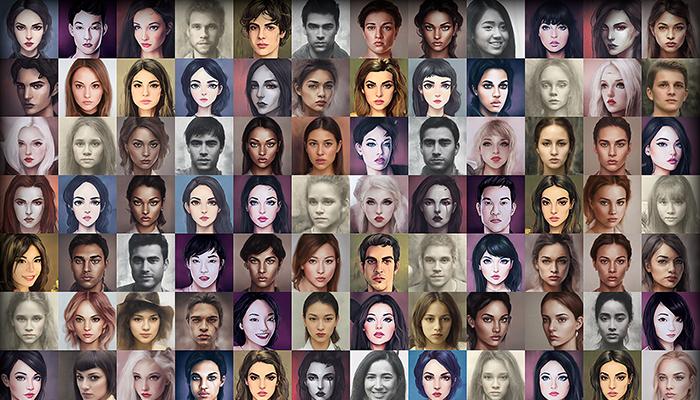 Character Portrait Mega Pack #3 • 1700+ hi-res portraits!
