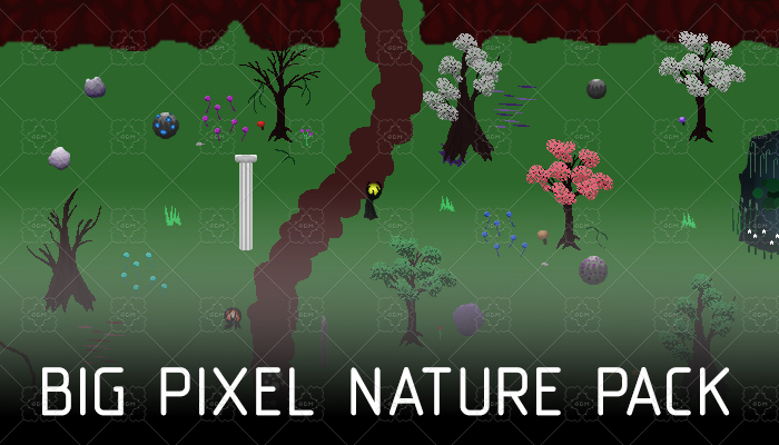 Big pixel nature pack