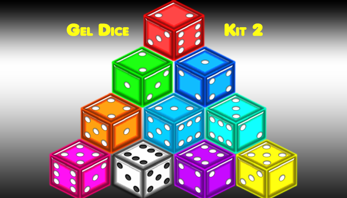 Dice Set 2 – Gel