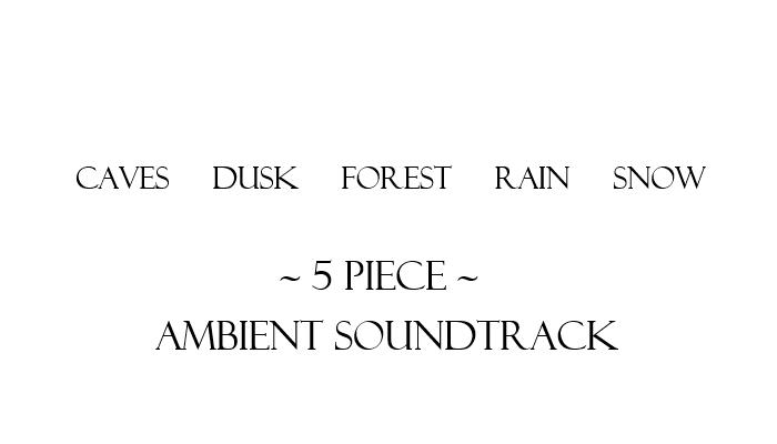 Ambient / Atmospheric Soundtrack (5 Pieces, 14 Minutes Total)