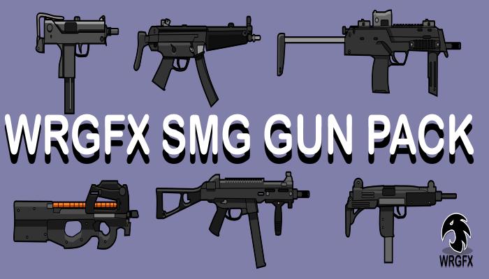WRGFX SMG Gun Pack