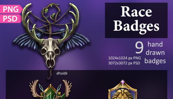 Race Badges/Emblems