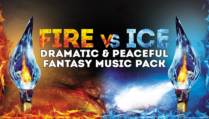 Fire VS Ice: Dramatic & Peaceful Fantasy Music Pack