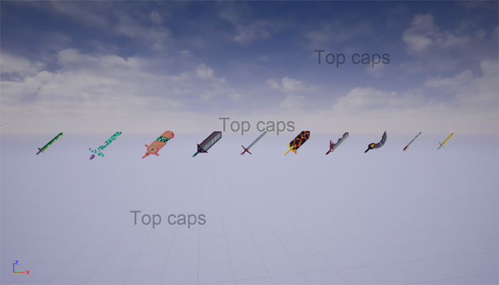 64 Bit fantasy swords