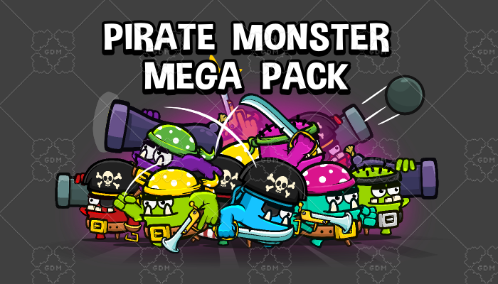 Pirate monster collection