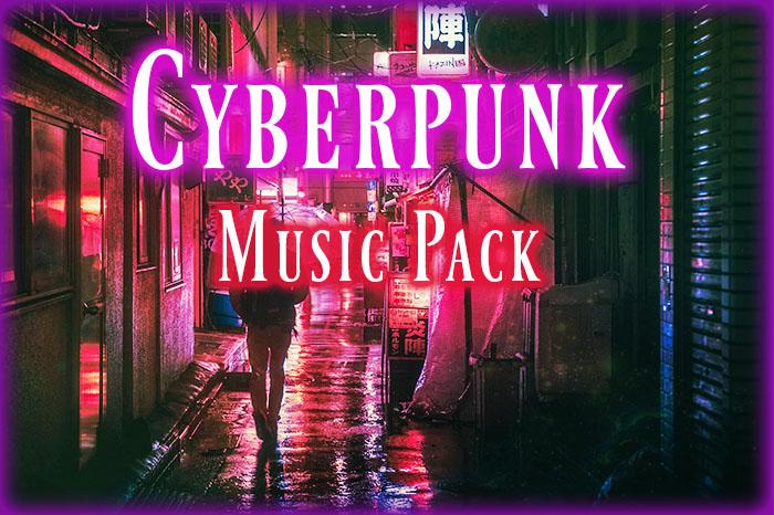 Cyberpunk Music Pack – 36 Tracks, 32min – Full Soundtrack