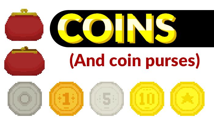 Coins || 2D Pixel Asset Pack