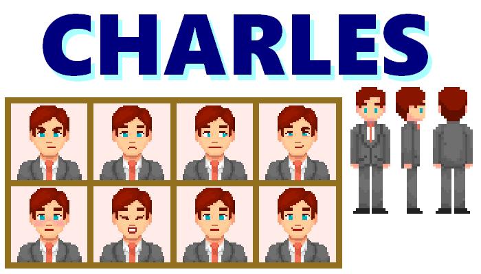 Charles Character || 2D Pixel Asset