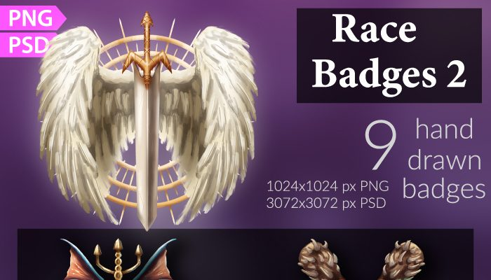 Race Badges/Emblems 2
