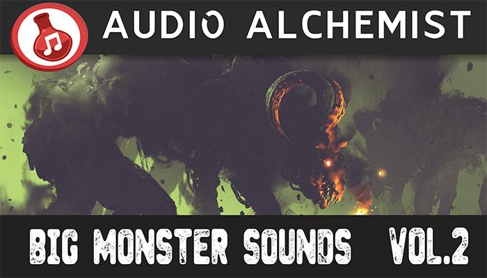 Big Monster Sounds Pack Volume 2