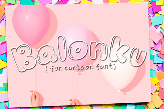 BALONKU Bubble Fonts
