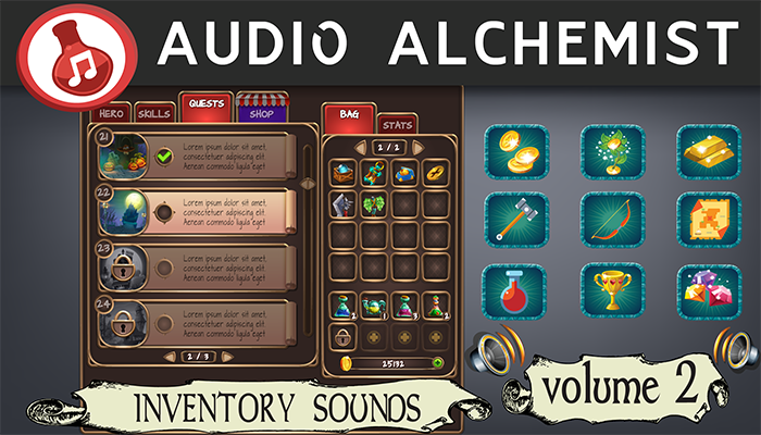 Inventory Sounds – Volume 2