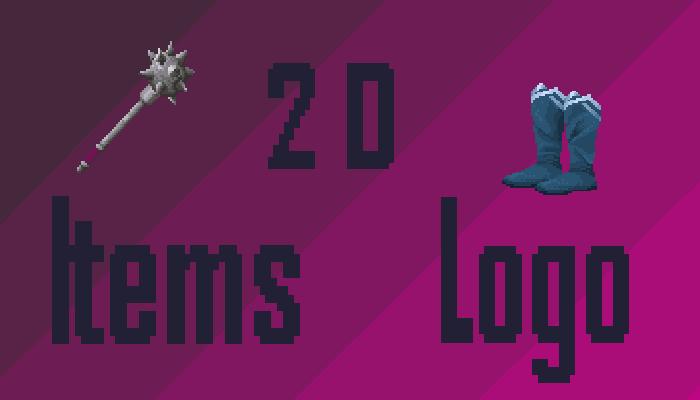 2D Items Logo Sprites