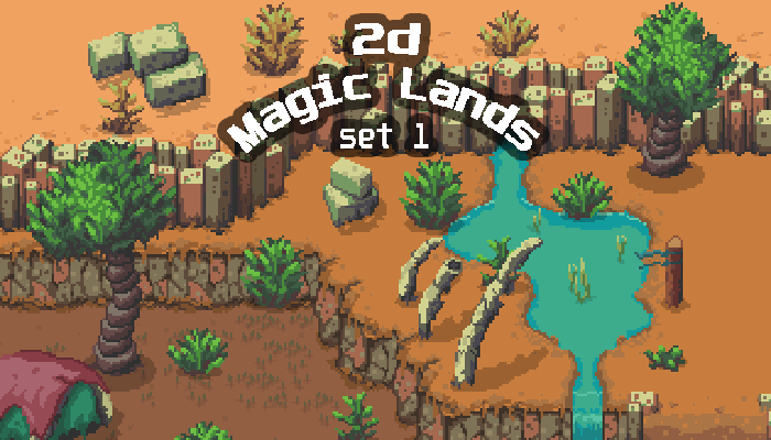 2D Magic Lands SET1