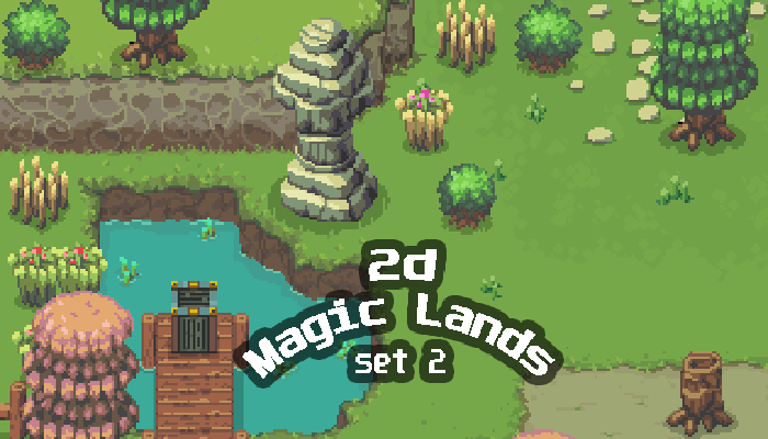 2D Magic Lands SET2