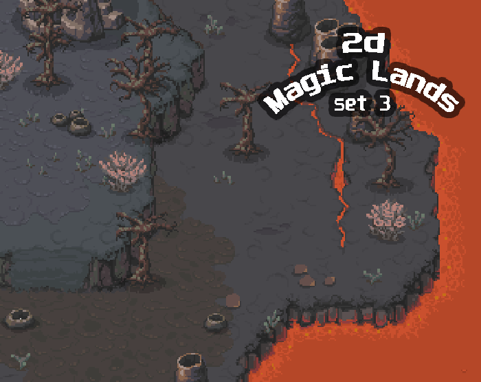 2D Magic Lands SET3