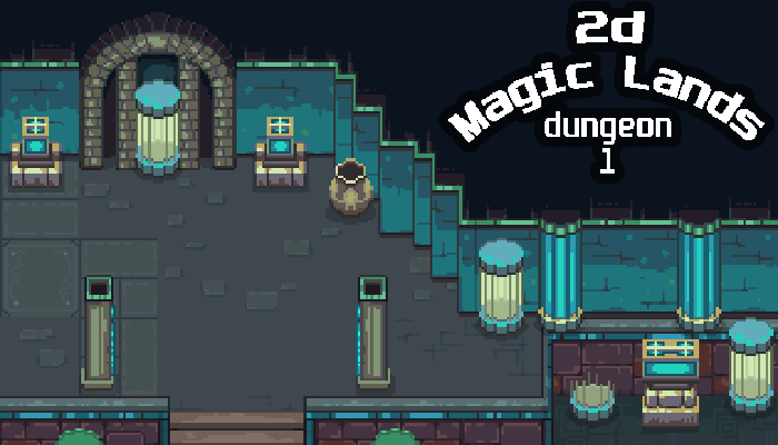 2D Magic Lands Dungeon 1