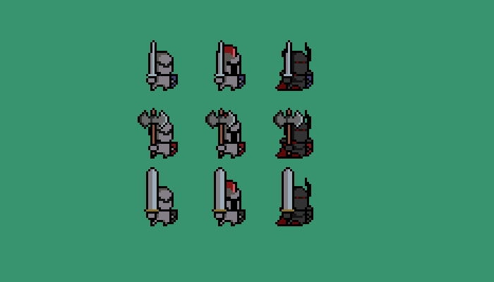Animated Knight Character Pack