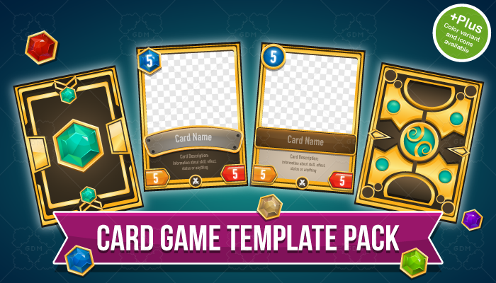 Card Game Template Pack