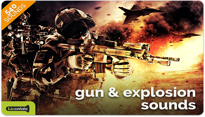 Gun & Explosion Sounds