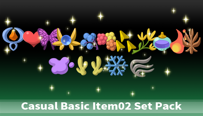 Casual Fantasy Item2 Set Pack