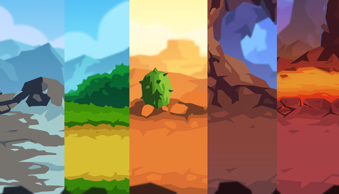 Simple 2D Background Pack