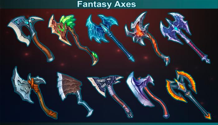 Fantasy Axes