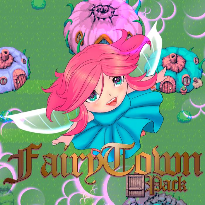 RPG Maker MZ/MV | Fairy Town Tileset