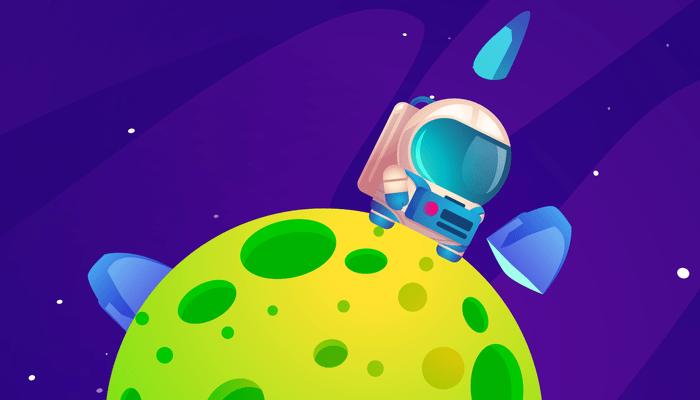 2D space platformer gamekit