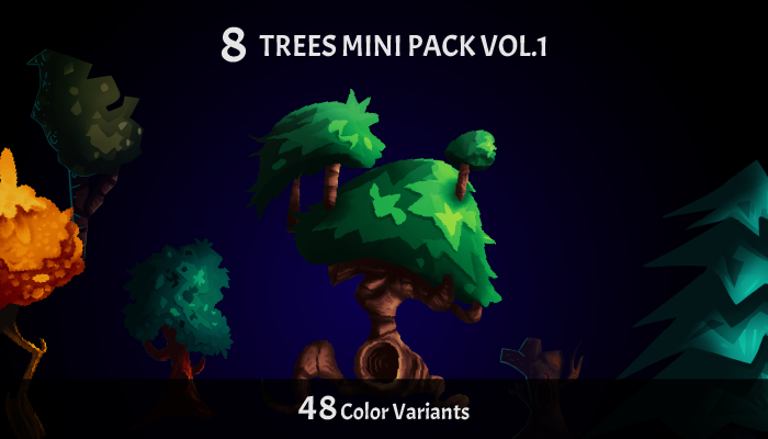 Trees Mini Pack Vol.1