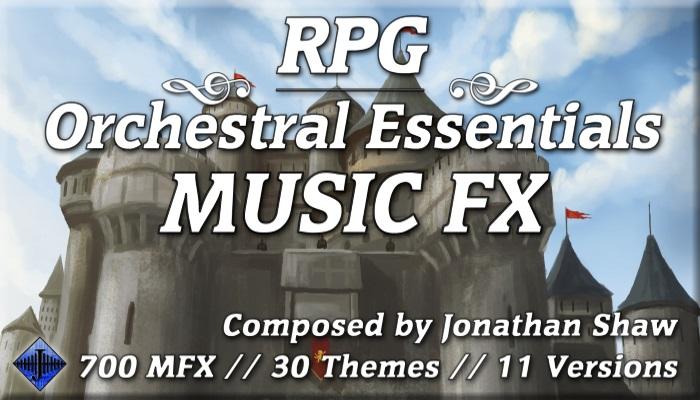 RPG Orchestral Essentials (Music FX – Bundle)