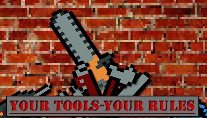 Your Tools – Your Rules | Pack With Pixel Tools 14x