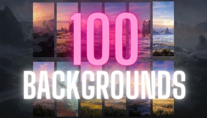 Background pack + 100 Pictures