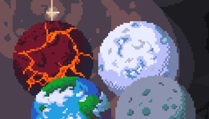 220+ pixel art planets
