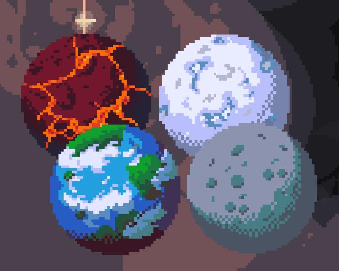 240 pixel art planets
