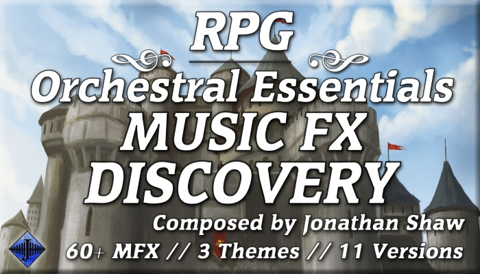 RPG Orchestral Essentials (Music FX – Discovery)