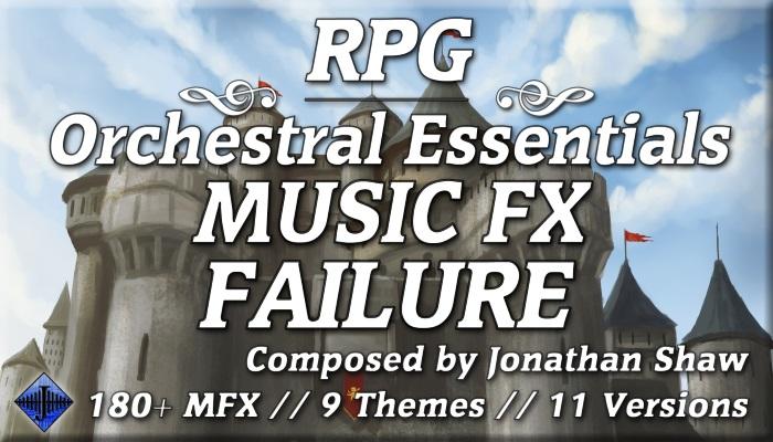 RPG Orchestral Essentials (Music FX – Failure)
