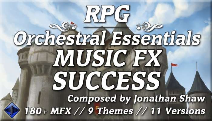 RPG Orchestral Essentials (Music FX – Success)