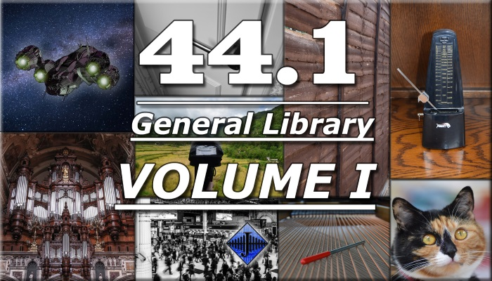 44.1 General SFX Library (Volume I)