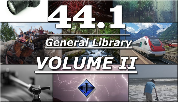 44.1 General SFX Library (Volume II)