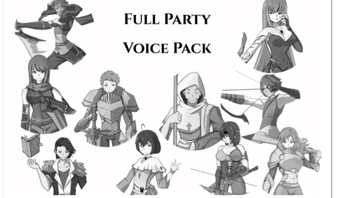 RPG Party Voice Pack Bundle