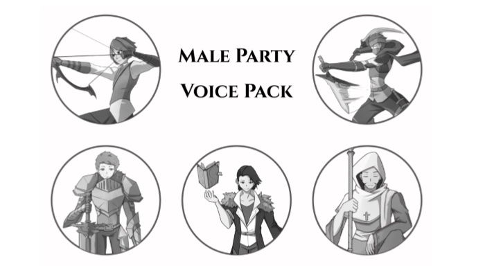 Male Party Voice Pack