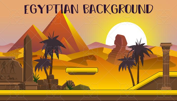 Complete egyptian level design