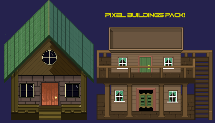 Pixel Building Pack